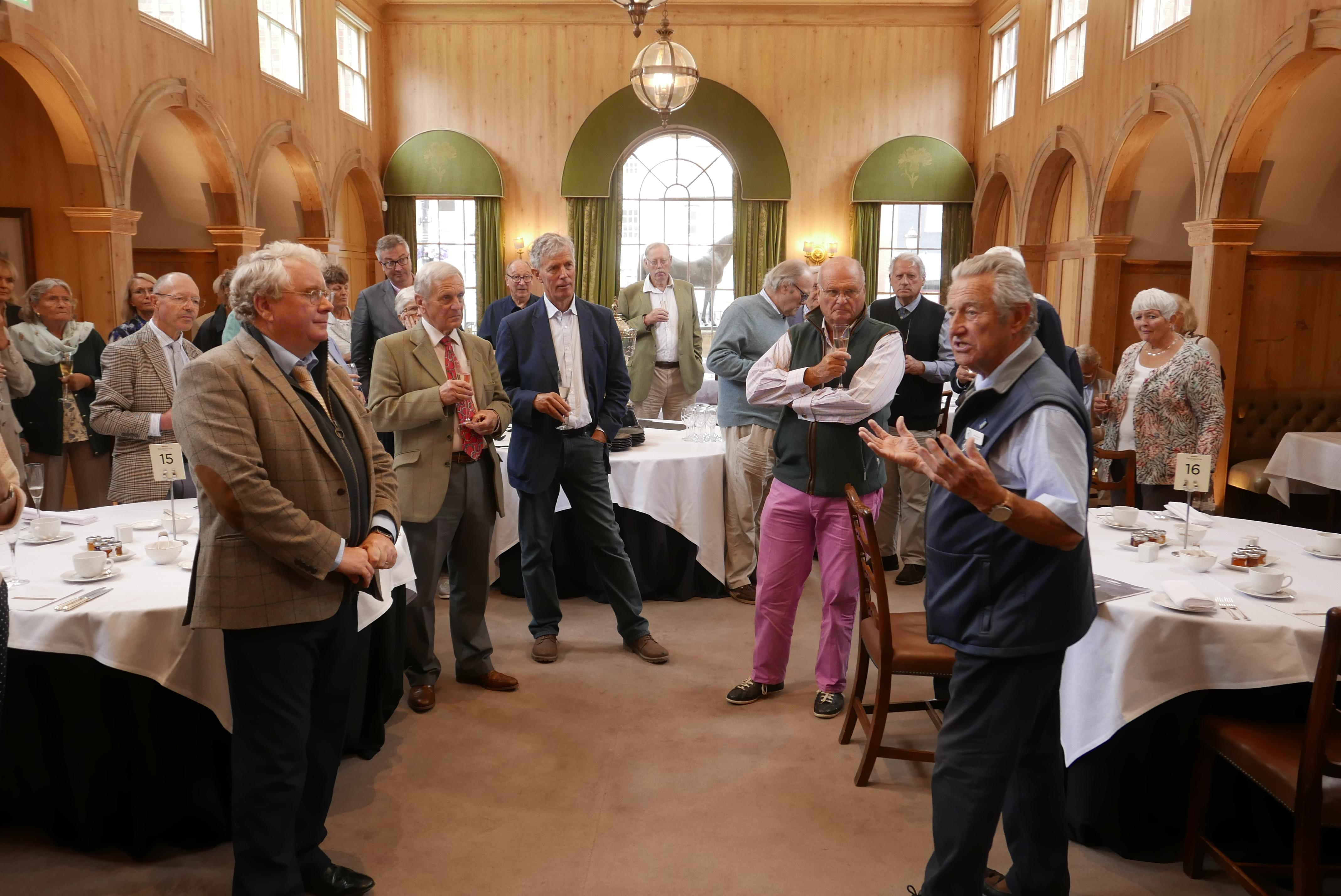 Liverymen visit The Jockey Club Rooms
