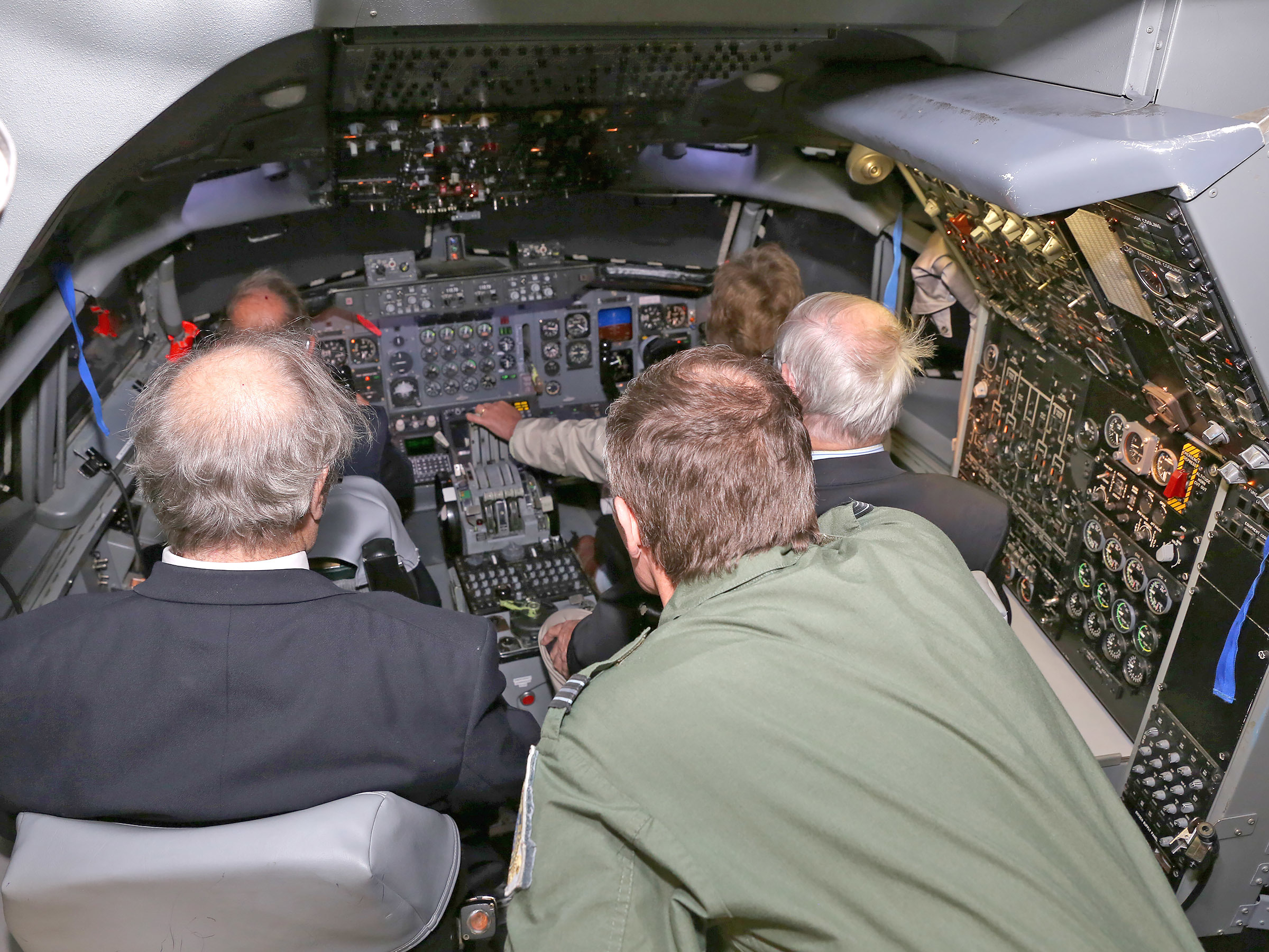 Flight simulator Waddington