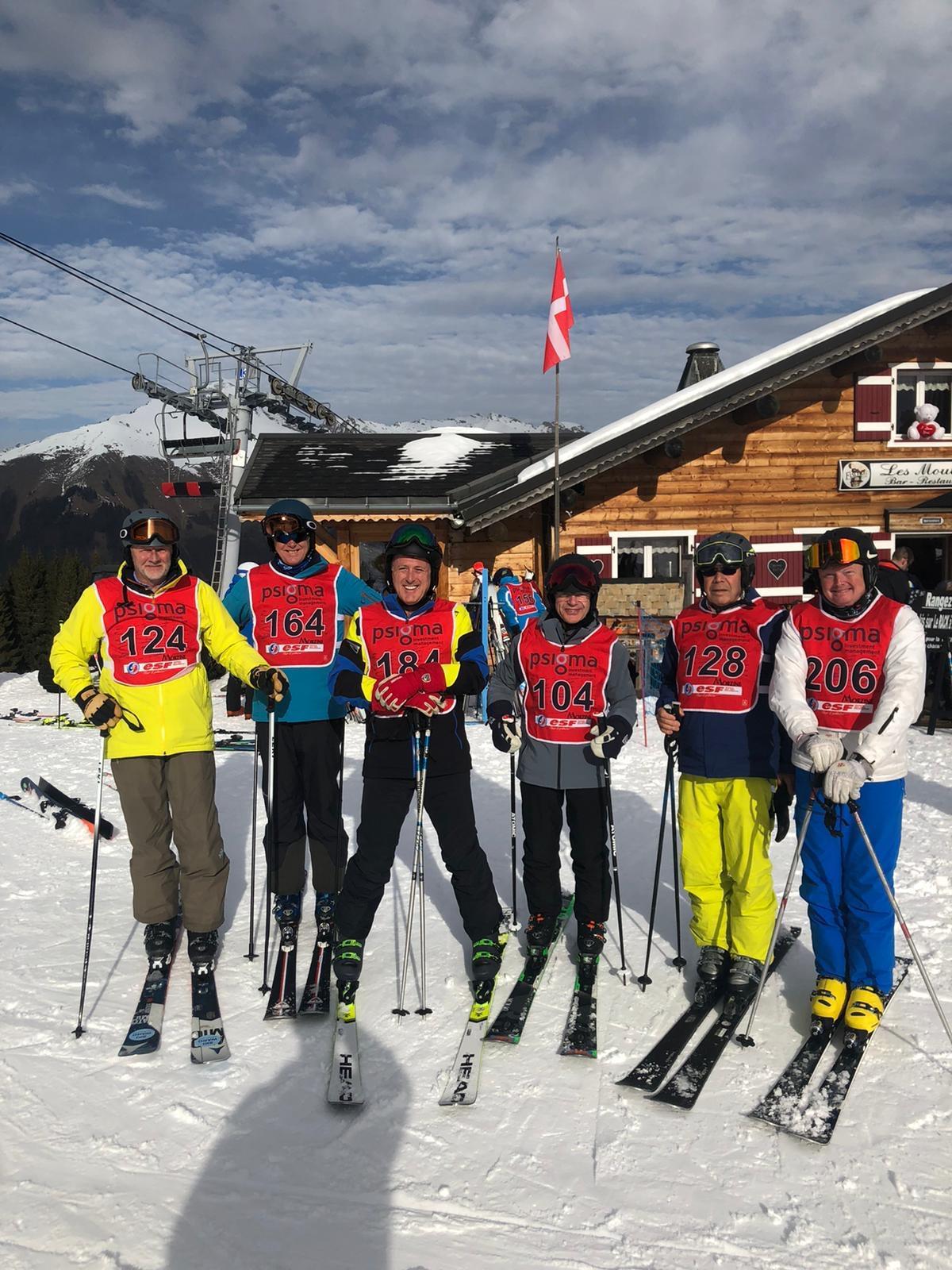 2020 Inter-Livery ski team