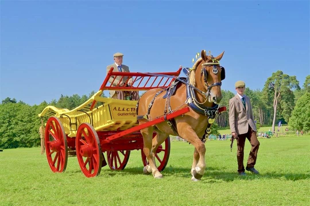 Rosemary Nash farm cart