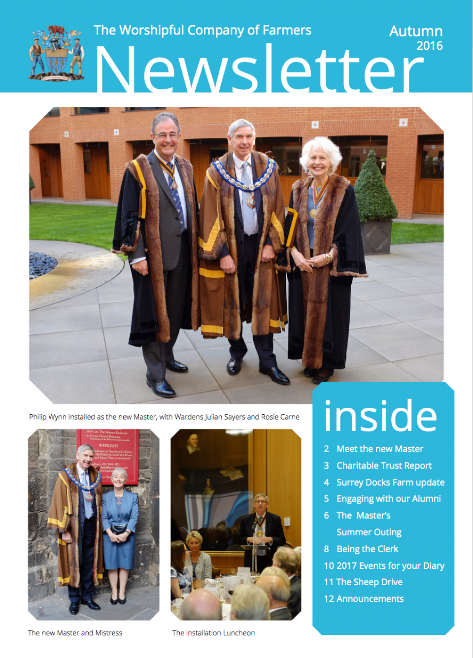 Nov newsletter front cover