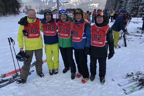 Biggest ever WCF team and biggest and best Inter-Livery Ski Championships