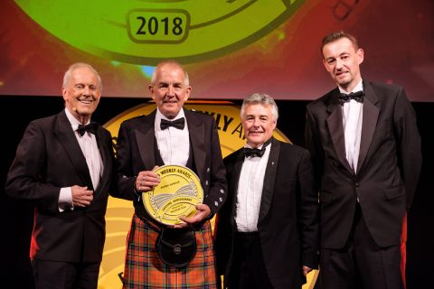 The Reverend Dr Gordon Gatwood wins the Farmers Weekly Lifetime Achievement Award