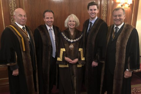 Two new Liverymen join the Worshipful Company of Farmers