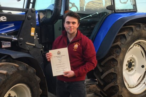 Ben Allard wins WCF award for Best Dissertation at Royal Agricultural University