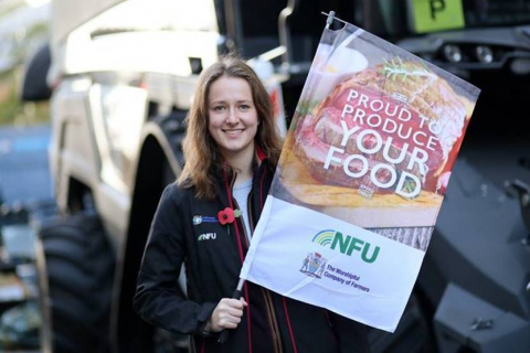 NFU Student and Young Farmer Ambassadors, who will support the WCF at this year's Lord Mayor's Show, selected