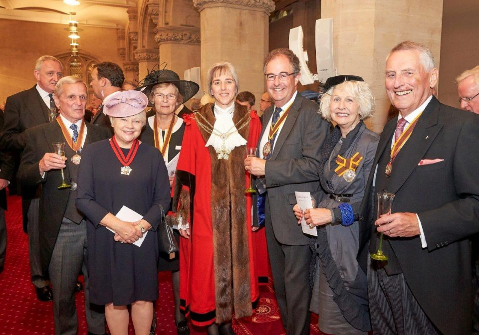 Master at election of Lord Mayor