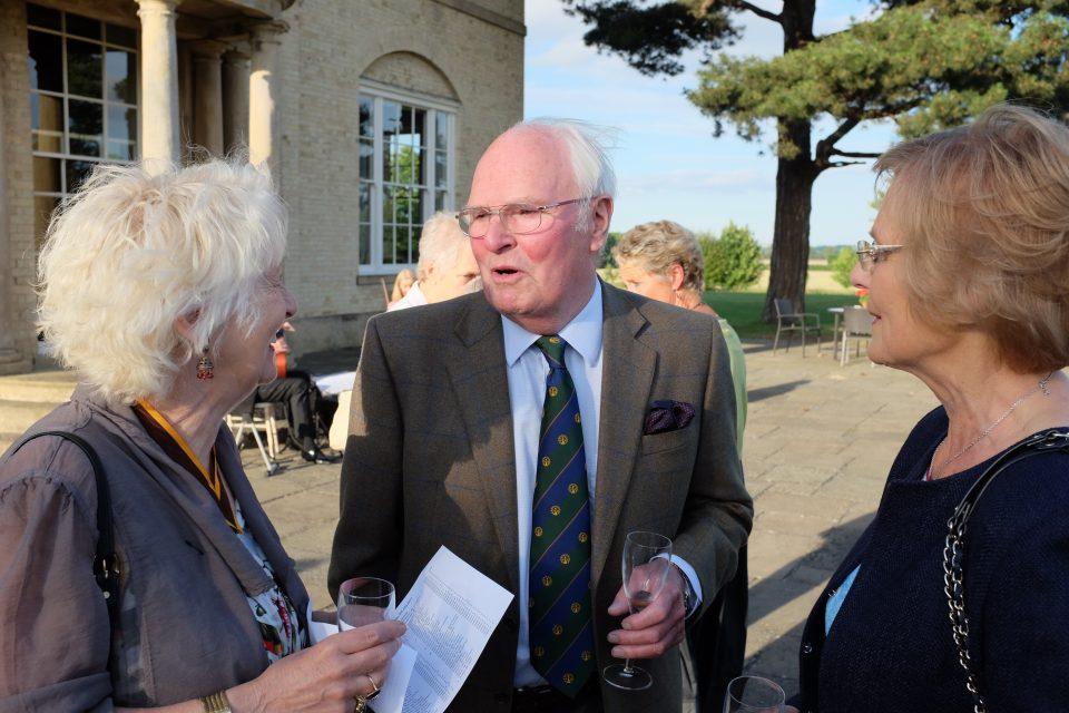 Rosie at Stubton Hall summer visit 2017
