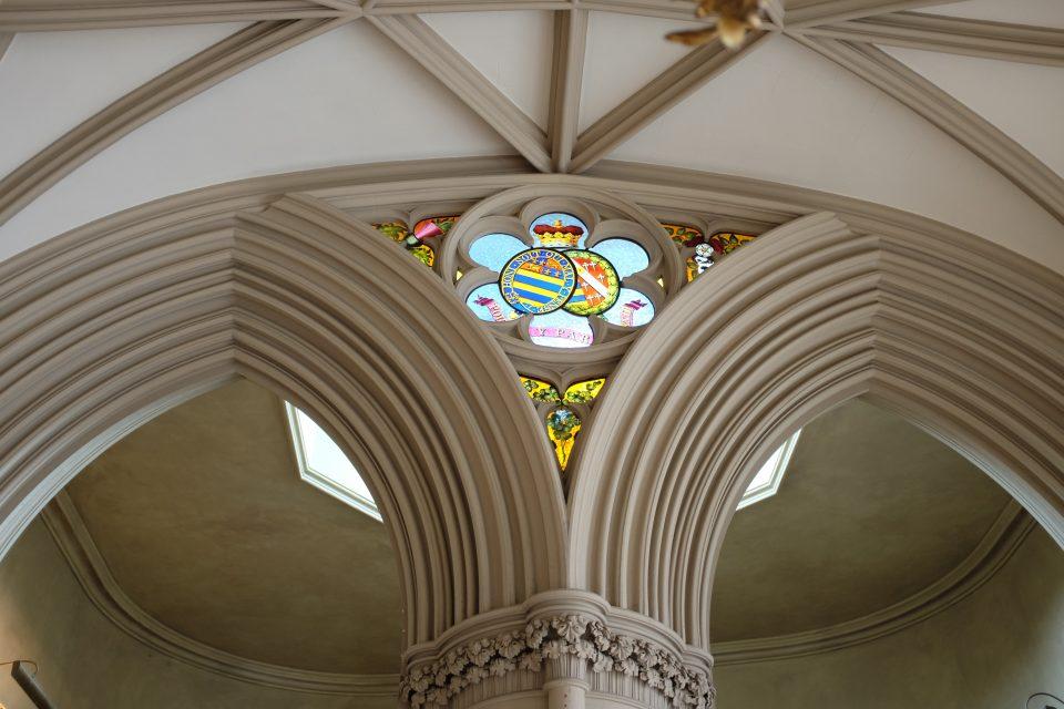 Castle detail Belvoir