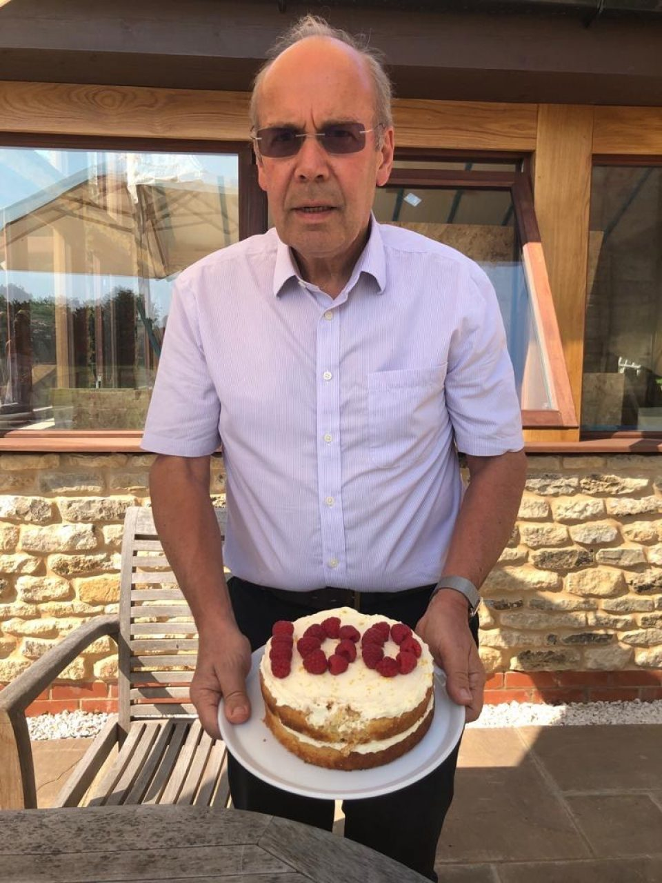 Christopher Day celebration cake
